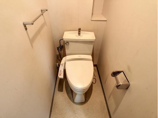 すっきりとしたトイレです。