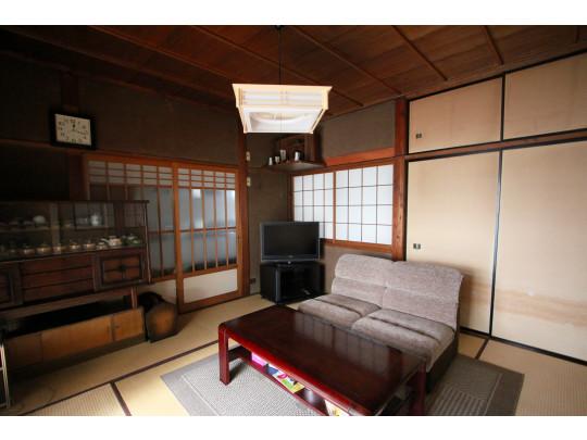 居室は、ノスタルジックで60'sな雰囲気が漂います