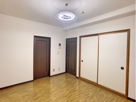 LDKから全ての部屋へ行き来できます