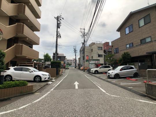 前面道路②