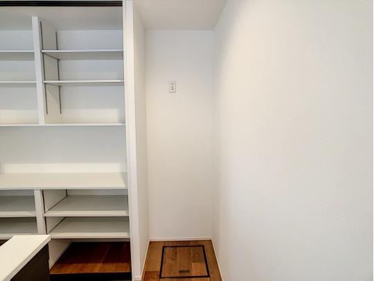 冷蔵庫スペースです。