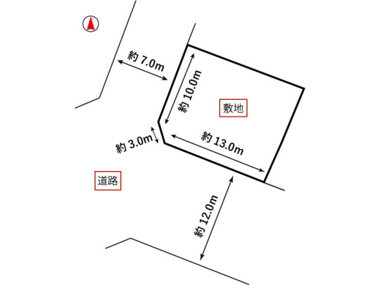 土地区画図