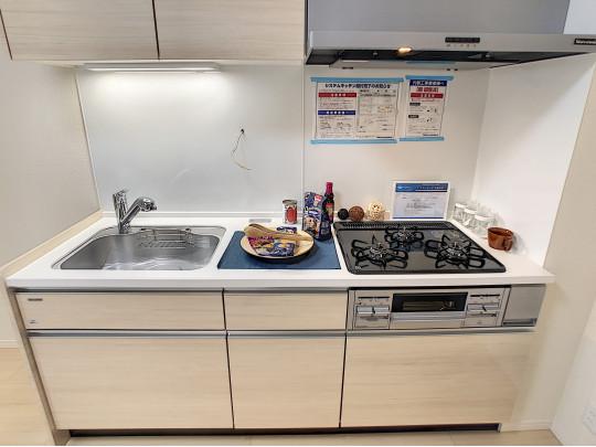 システムキッチンは新規交換済です