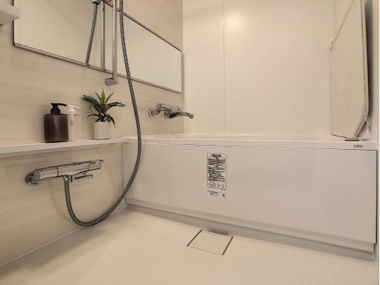 日々の疲れを癒してくれる浴室です