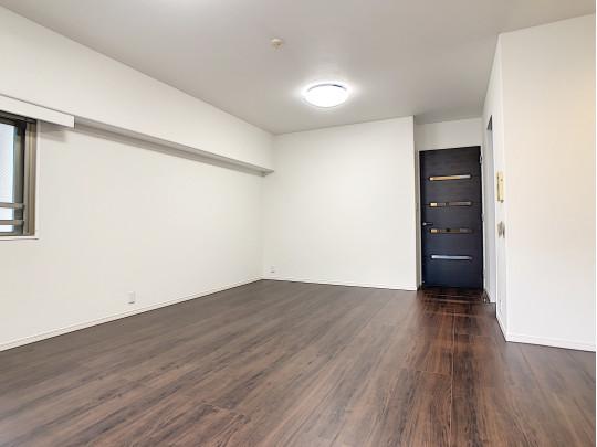 採光付デザインドアの付いたお部屋です