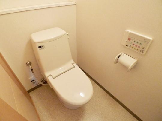 こまめにお手入れされたトイレです。清潔にしておきたい場所です