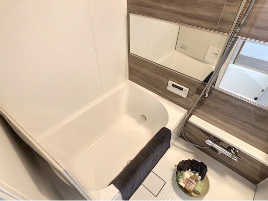 浴室ユニットも新品です