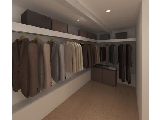 ※イメージ WICは収納量はもちろん、デザイン性も兼ね備えたオシャレな空間です。