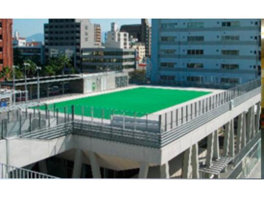 建築家デザインの博多小学校。