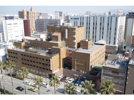 総合病院がすぐ近くにあります。