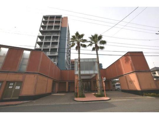 大川小学校エリア、各方面にアクセスの良いマンションです。ペット相談可。