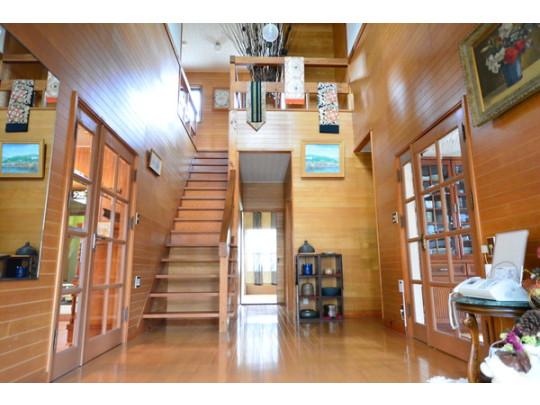 最初にお家に入ったときにお家が広く感じて気持ちが良いです。
