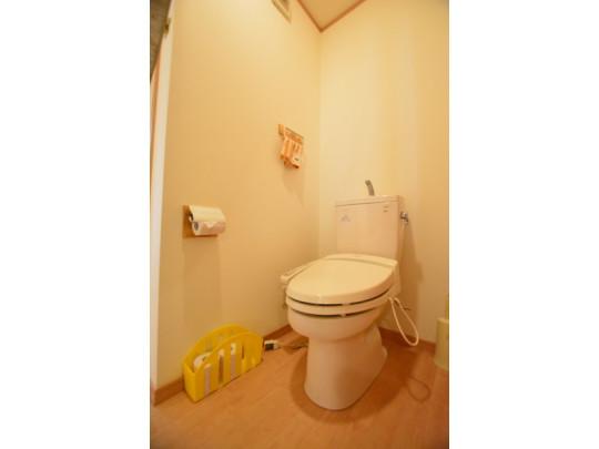 トイレもゆったりとしたスペースになっています。