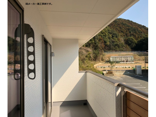 (イメージ)雨の日の洗濯も安心の屋根付きインナーバルコニーです。