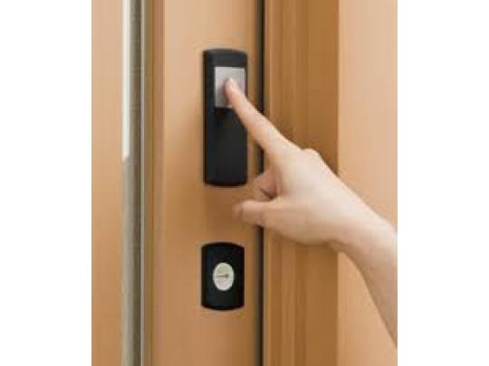 (イメージ)簡易タッチスマートキー ボタンを押すだけ。車のキーみたいな便利さです。