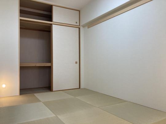 和室は琉球畳を採用!モダンな雰囲気になっています(^^)